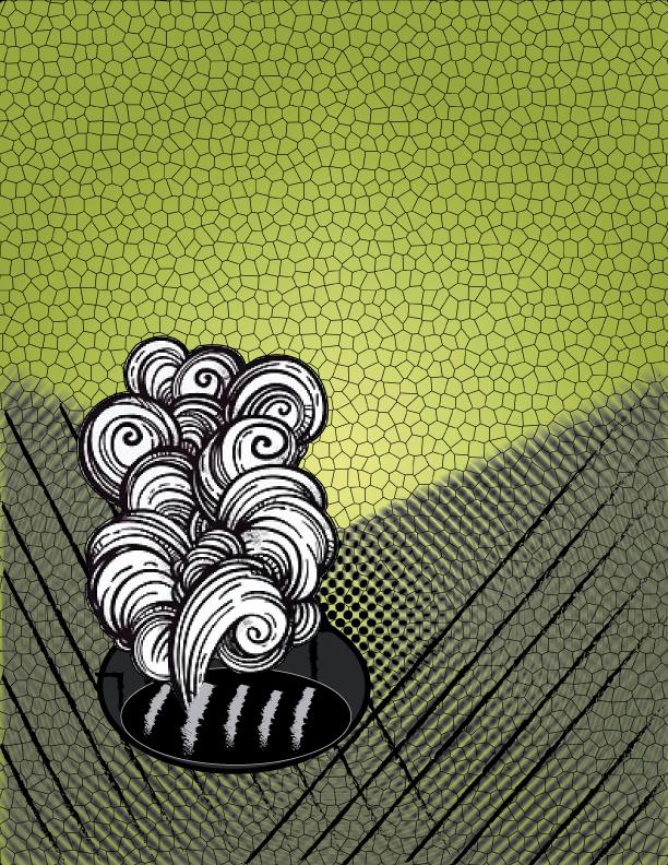 coladera ilustracion